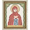 """Рисунок на ткани для вышивания бисером """"Святая Преподобная Пелагея Антиохийская"""""""