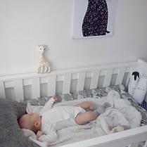 Детская кроватка с ящиком Barcelona Pinio, фото 3