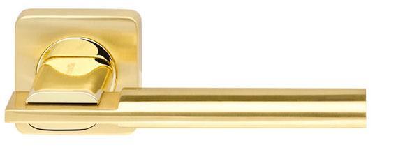 Ручки дверні Armadillo TRINITY SQ005-21SG/GP-4 матове золото, золото