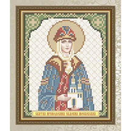 """Рисунок на ткани для вышивания бисером """"Святая Преподобная Евдокия Московская"""", фото 2"""