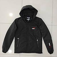 Зимова чоловіча куртка пряма PUMA розмір норма 48-56,колір чорний