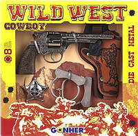 Игровой набор Дикий Запад 2 Gonher 157/0