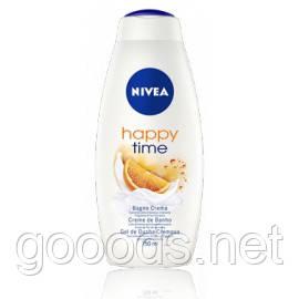 Гели для душа оптом Nivea Happy Time 750 мл