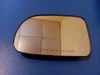 Стекло зеркала Chevrolet Aveo 3 Авео T250 / Vida Вида левое.