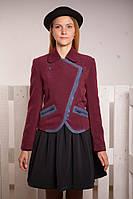 Куртка кашемировая для девочки подростка (2 цвета, р.38-42)