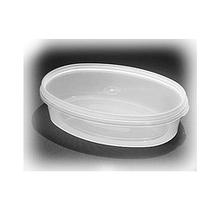 Судок 0,3 л. овал пластиковый для пищевых продуктов код 38S