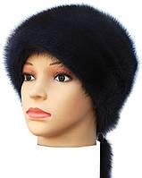 """женская меховая шапка норковая """" Альбина """" цвет ирис"""