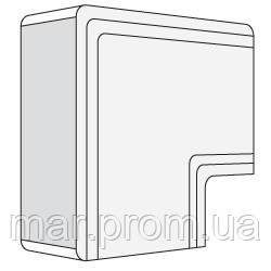 NPAN 80x60 угол плоский белый RAL9001