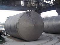 Цилиндрический стальной резервуар для нефтепродуктов