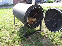Печь отопительная дровяная Брест ВД-200 (с водяным контуром, обогрев до 200 м3)