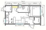 Дачний будиночок / Модульний будинок / Модульний офіс, фото 8