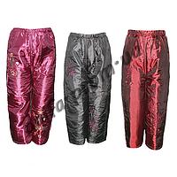 Зимние брюки FD25 на синтепоне для девочек (3-7 лет) оптом в Одессе