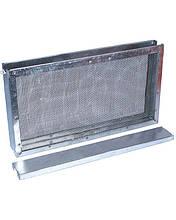 Изолятор сетчатый оцинкованный Дадан на 1 рамку