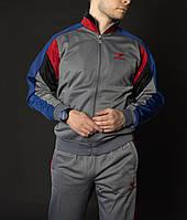 Мужской спортивный костюм монтана серый Винтаж 90-х Montana sport Турция Спортивные костюмы большие размеры