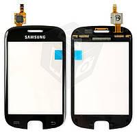 Touchscreen (сенсорный экран) для Samsung Galaxy Fit S5670, оригинал (черный)
