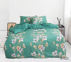 Комплект постельного белья полуторный с компаньоном S422 сатин люкс