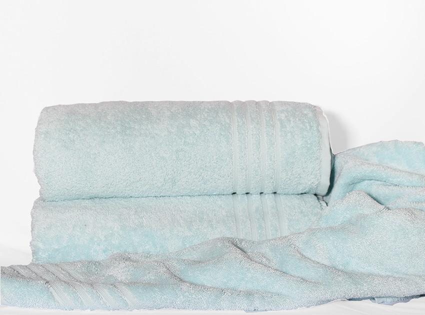 ТМ TAG Рушник 100х150 Calm tones колір: блакитний