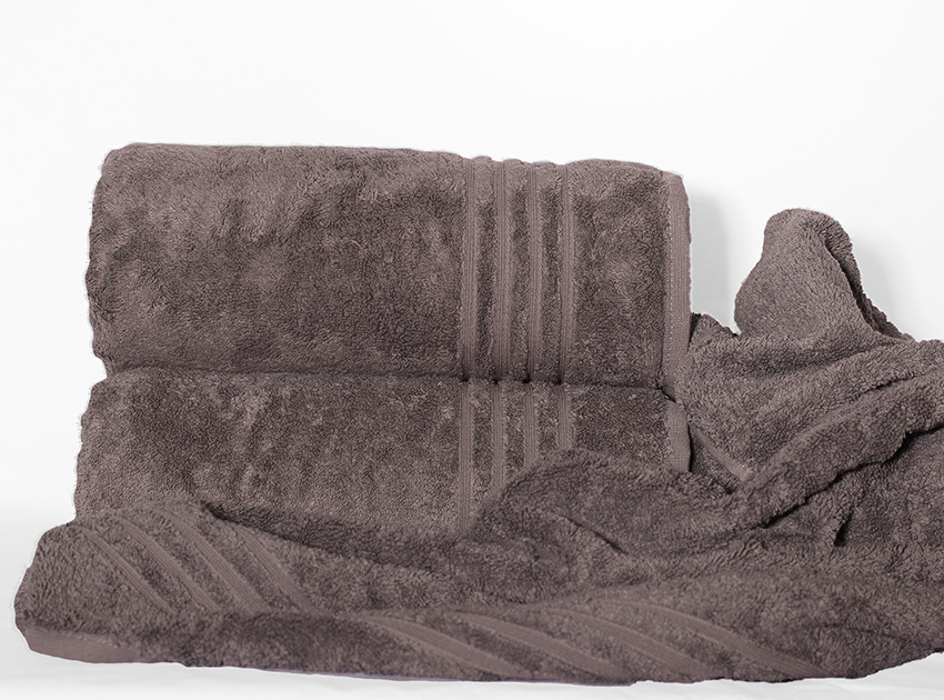 ТМ TAG Полотенце 100х150 Calm tones цвет: серый
