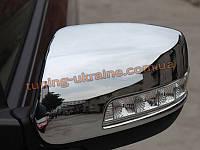 Хромированные накладки на зеркала на KIA Sorento 2012+