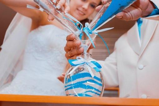 Цветной песок для свадьбы 155
