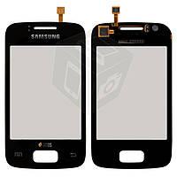 Touchscreen (сенсорный экран) для Samsung Galaxy Y S6102, оригинал, черный
