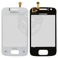 Touchscreen (сенсорный экран) для Samsung Galaxy Y S6102, белый, оригинал