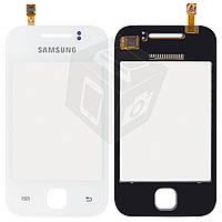 Touchscreen (сенсорный экран) для Samsung Galaxy Y S5360, оригинал (белый)