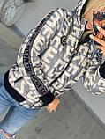 Жіноча стильна брендовий куртка з капюшоном,3 кольори, розміри: 38,40,42,44 євро, 4 кольори., фото 3