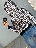 Жіноча стильна брендовий куртка з капюшоном,3 кольори, розміри: 38,40,42,44 євро, 4 кольори., фото 4