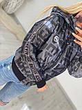 Женская стильная брендовая куртка с капюшоном,3 цвета, размеры: 38,40,42,44 евро, 4 цвета., фото 5