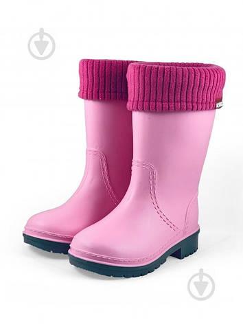 Сапоги резиновые Alisa Line Win р.40 розовый, фото 2