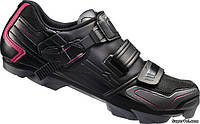 Велотуфли женские Shimano SH-WM83L, 40, черные