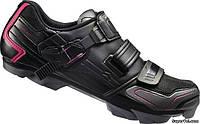 Велотуфли женские Shimano SH-WM83L, 38, черные