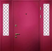Металлические входные двери размер