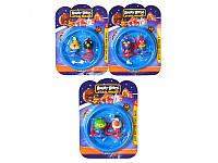 Детская Юла на запуске 3 вида 2 шт Angry Birds LT 609 B