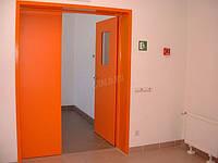 Стальная подъездная дверь