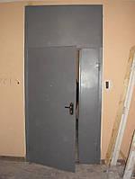 Подъездные входные металлические двери