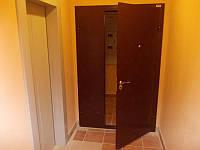 Распашные тамрные двери