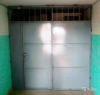 Железная тамрная дверь с установкой