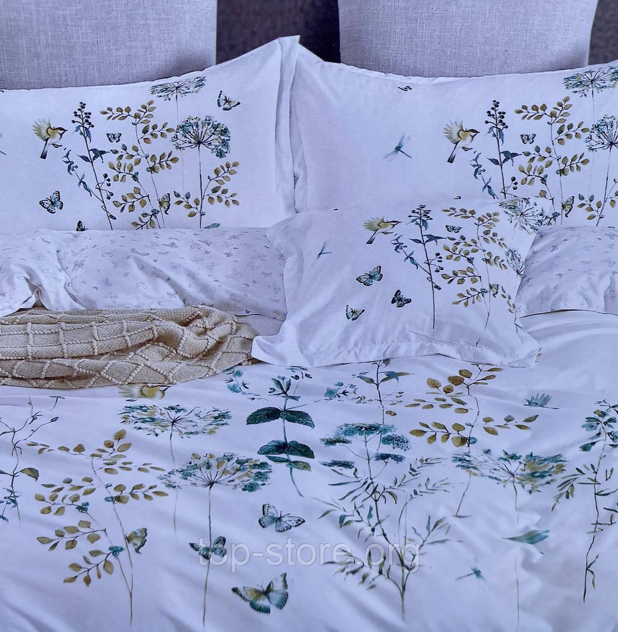 Сатиновое постельное белье комплект Размер евро 200*230