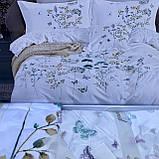 Сатиновое постельное белье комплект Размер евро 200*230, фото 4