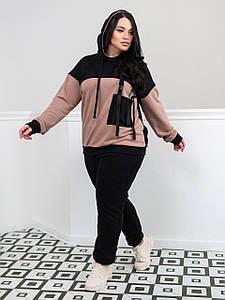Різне жіноча, колір: світло-коричневий+чорний, розмір: 50(XL), 52(XXL), 54(XXXL), 56(XXXXL)