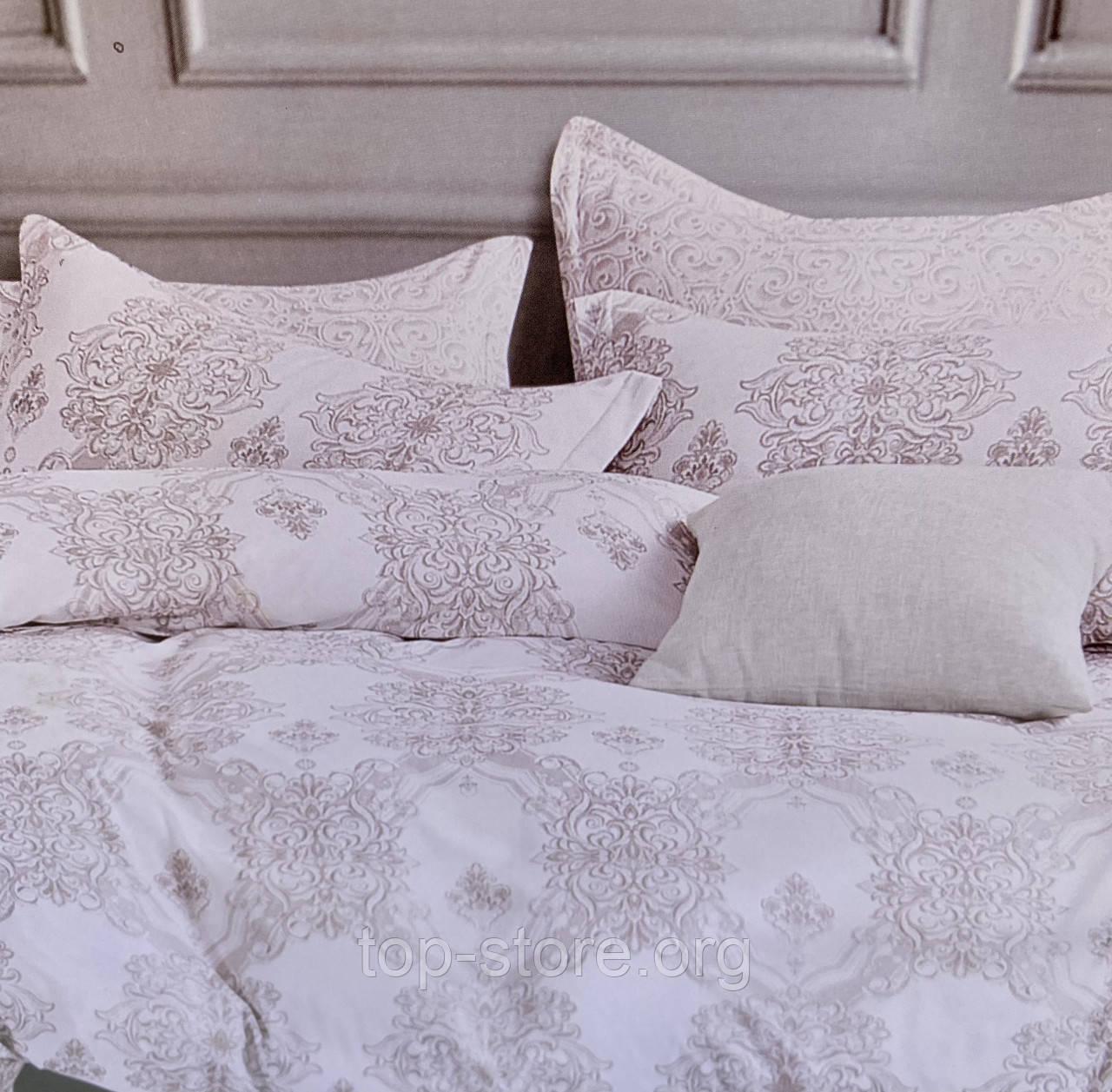 Комплект постельного белья из сатина Евро размера 200*230 Ткань - Хлопок