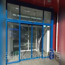 Автоматичні розсувні двері Gilgen (Kaba) SLA (Швейцарія)*