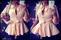 Женская стильная рубашка-баска (4 цвета), фото 1