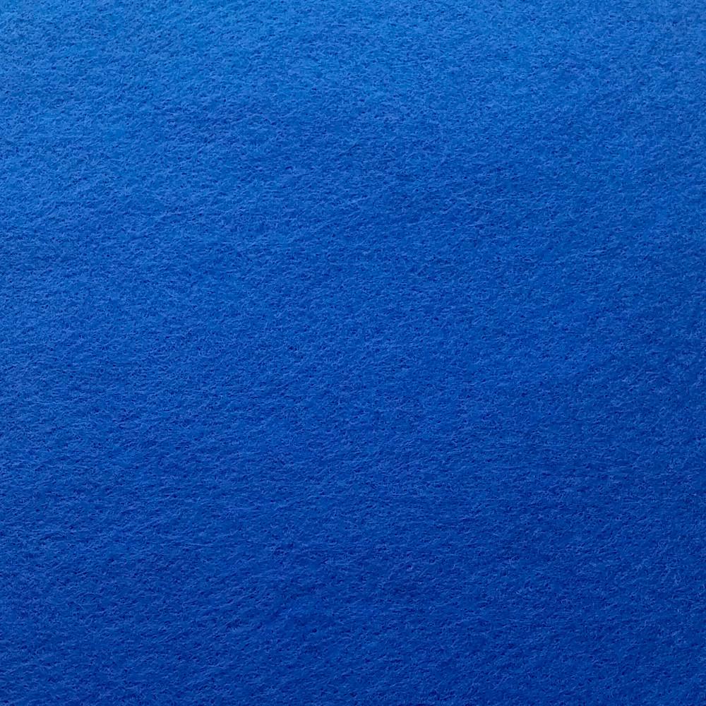 Фетр клеевой мягкий 1.4 мм, СИНИЙ, Китай