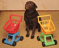 Детская Тачка с корзиной Орион - Тележка для супермаркета