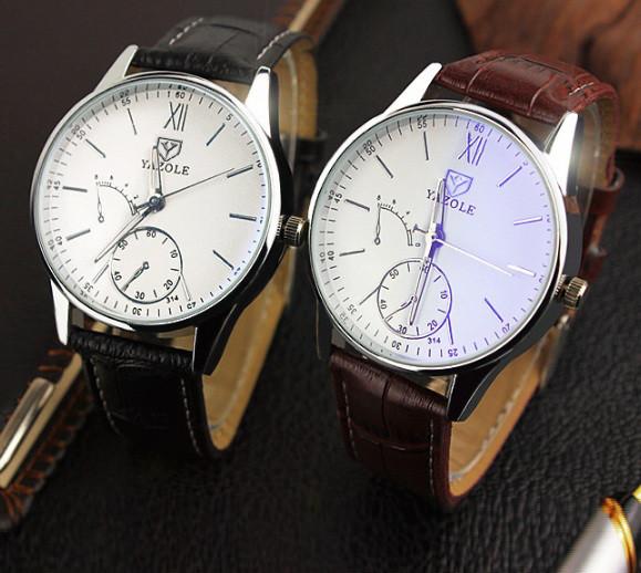 Наручные часы yazole кварцевые