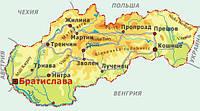 Международные перевозки грузов из/в Словакию