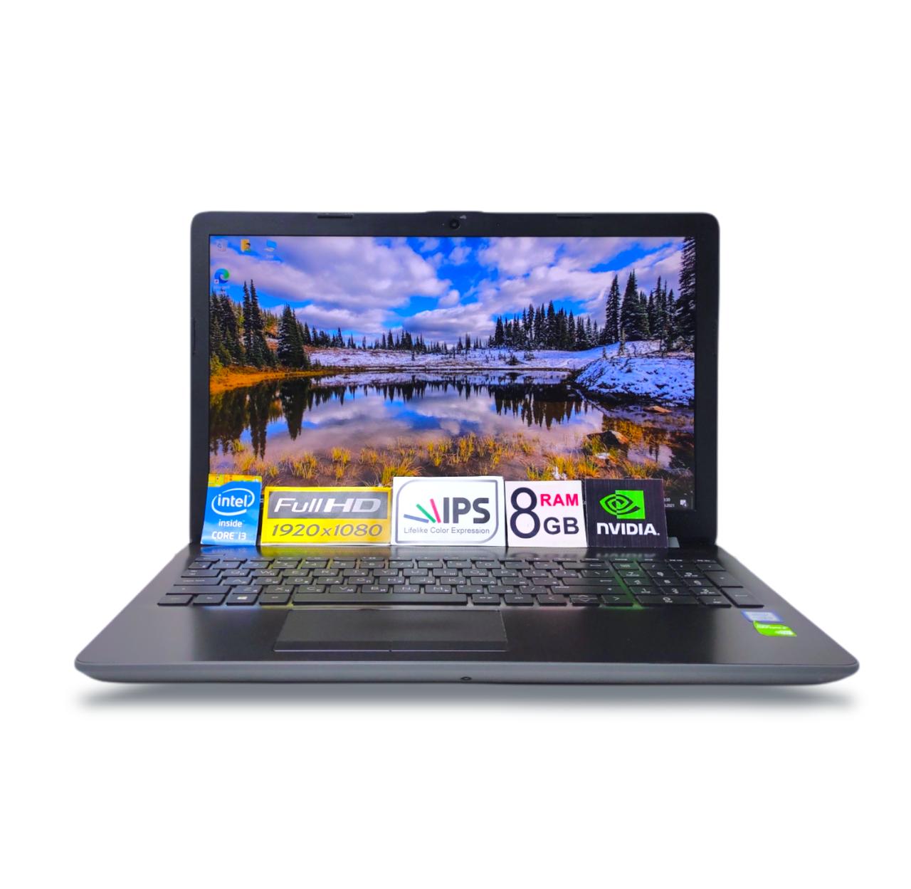 """Ігровий Ноутбук HP Laptop 15 FHD IPS 15.6""""  i3-7020U 8GB DDR4 500GB HDD NVIDIA GeForce MX110 2Gb GDDR5"""